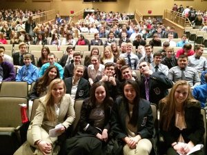 Preble DECA competing at Districts!