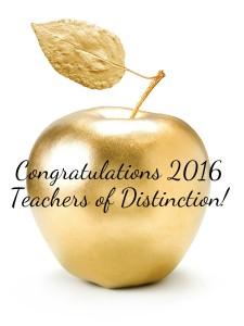 2016 Teachers of Distinction